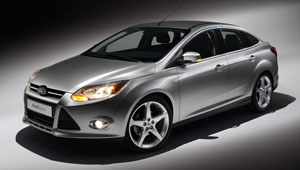 The 2012 Ford Focus sedan